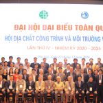 KẾT QUẢ ĐẠI HỘI ĐẠI BIỂU TOÀN QUỐC HỘI ĐỊA CHẤT CÔNG TRÌNH VÀ MÔI TRƯỜNG VIỆT NAM NHIỆM KỲ IV (2020-2025)